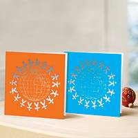 Unicef all-occasion cards, 'A Circle of Friendship' (set of 10) - Unicef All Occasion Cards A Circle of Friendship (Set of 10)