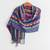 Cotton shawl, 'San Juan Fiesta' - Colorful Cotton Shawl Crafted in Guatemala (image 2b) thumbail