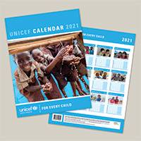 Unicef UK 2021 Photo Calendar - Unicef 2021 Photo Calendar