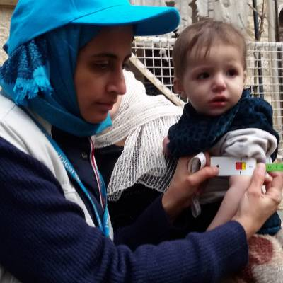 Emergency gift for a Syrian child £18  - Gift of emergency supplies to help a Syrian child