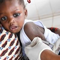 Measles vaccines for 50 children - Measles vaccines to protect 50 children