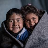 Blankets for five babies - Warm blankets for five babies