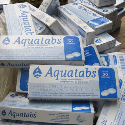 5,000 water purification tablets  - 5,000 water purification tablets