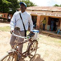 Equip a health worker - Equip a health worker: bicycle, vaccine carrier & supplies