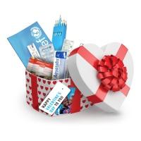 £25 Valentine's Day Gift Box of Emergency Supplies - £25 Valentine's Day Gift Box of Emergency Supplies