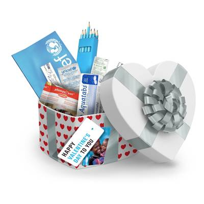 £50 Valentine's Day Gift Box of Emergency Supplies - £50 Valentine's Day Gift Box of Emergency Supplies