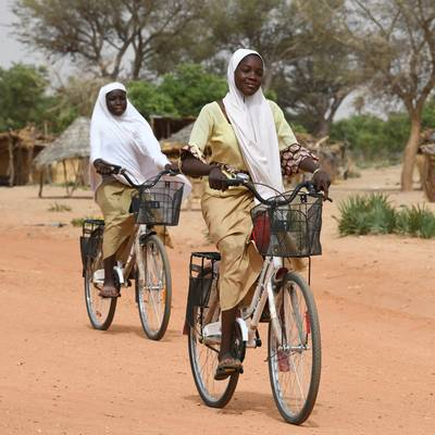 Bicycle for a School Child or Health Worker - Bicycle for a School Child or Health Worker