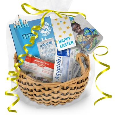 Easter Gift Box of Supplies - Easter Gift Box of Supplies