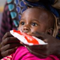 Therapeutic food to save a child from malnutrition