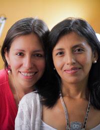 Tania and Sandra
