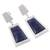 Sodalite dangle earrings, 'Gate to the Sky' - Sodalite dangle earrings (image 2c) thumbail
