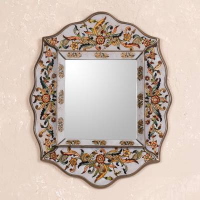 Cedar mirror, Antique Charm