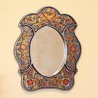 Mirror, 'Floral Sky' - Mirror