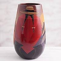 Featured review for Ceramic vase, Highland Women