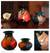 Ceramic vases, 'Rest Time' (pair) - Ceramic vases (Pair) (image 2) thumbail