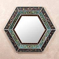 Mirror, 'Enchanted Blue Sky' - Mirror