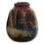 Ceramic vase, 'The Cottage' - Hand Painted Cuzco Ceramic Vase (image 2c) thumbail
