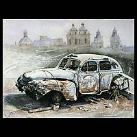 'The Years that Pass By' (2007) - Realist watercolour Painting