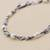Cultured pearl link bracelet, 'Colonial Pearls' - Handmade Sterling Silver and Cultured Pearl Bracelet (image 2d) thumbail