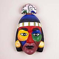 Ceramic mask, 'Nobility' - Ceramic mask