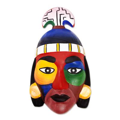 Ceramic mask, 'Nobility' - Ceramic mask