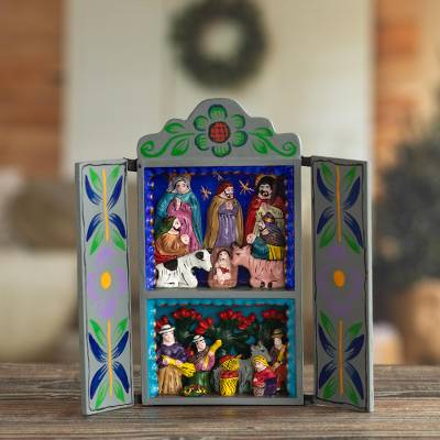Retablo, Blue Christmas