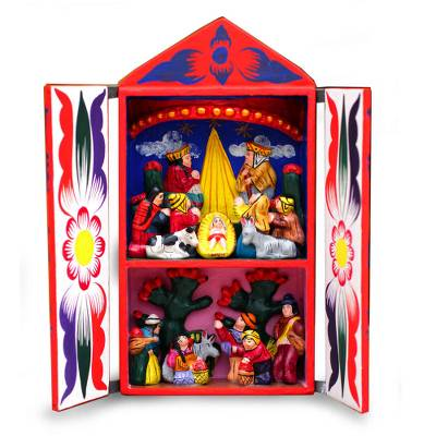 Retablo, 'Peruvian Christmas' - Retablo