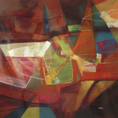 'Night of Inspiration' (2007) - Abstract Painting (2007)