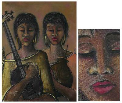 'Ancestral' - Tribute To Women Original Oil Painting Realist Fine Art