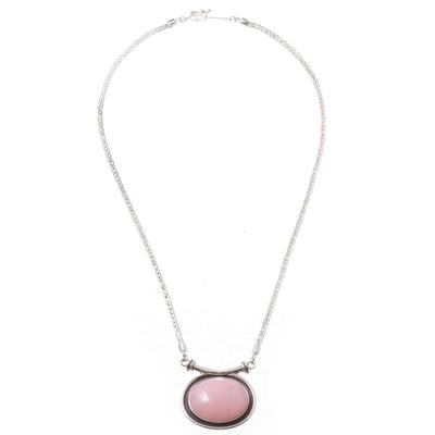 Opal choker, 'Mystical Medallion' - Opal choker