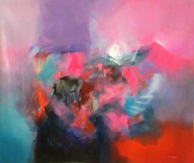 'You Are' (2008) - Original Painting Abstract Art Peru
