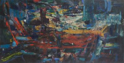 'Nocturnal' (2004) - Abstract Abstract Painting (2004)