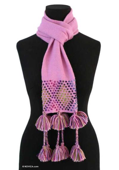 Peruvian Blend Solid Knit Scarf