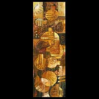 'Abundance and Fertility' - Still Life Expressionist Peru Fine Art Oil Painting