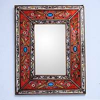 Mirror, 'Orange Cajamarca Warmth'