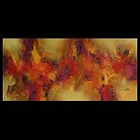 'Rebirth' (2008) - Original Abstract Painting