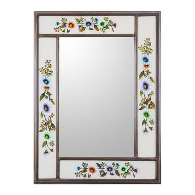 Mirror, 'Modern Daisy' - Mirror