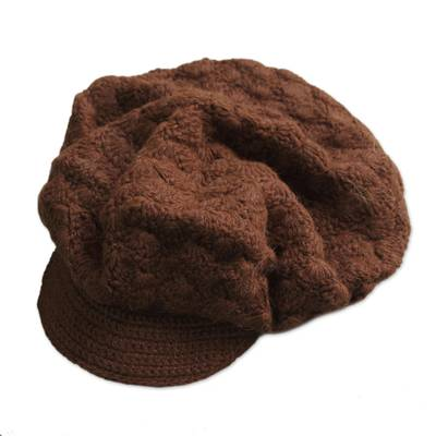 Artisan Crafted Alpaca Wool Cap