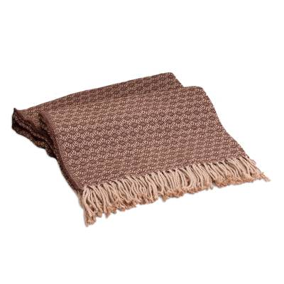 Throw, 'Cocoa and Cream' - Throw