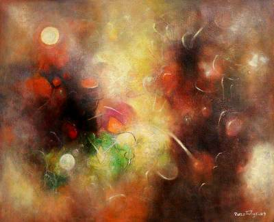 'Interior Space' (2009) - Peruvian Oil Painting