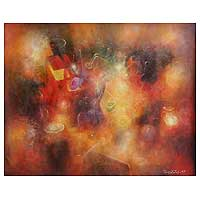 'Reminiscences' (2009) - Abstract Oil Painting