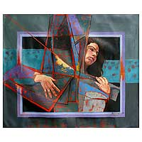 'Surreal Woman' (2009) - Peruvian Fine Art Painting
