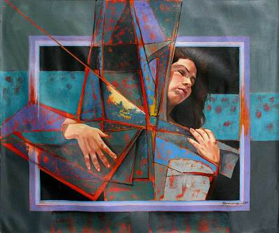 'Surreal Woman' (2009) - Peruvian Fine Art Painting