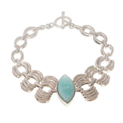 Amazonite pendant bracelet