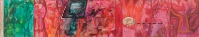 'Dreams of Grandeur' (2009) - Abstract Oil Painting