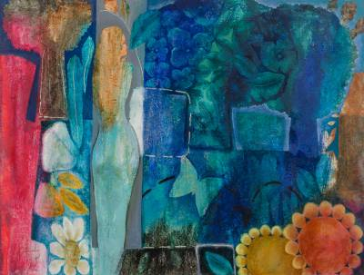 'Walk in Spring' (2009) - Abstract Painting