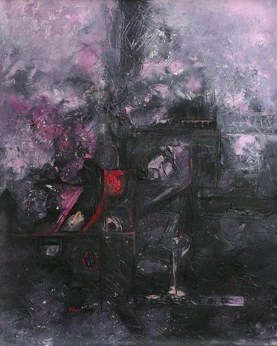 'Chaos and Creativity IV' - Peruvian Abstract Painting