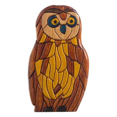 Ishpingo statuette, 'Owl Philosophies' - Ishpingo statuette