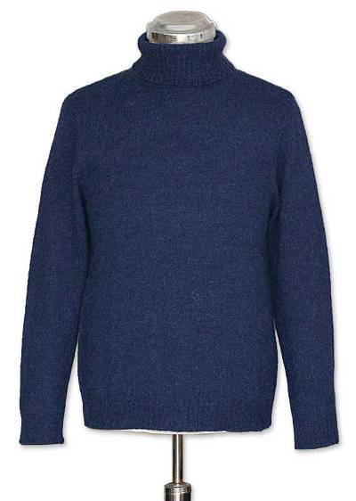 Alpaca men's sweater, 'Mariner' - Alpaca men's sweater