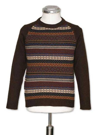 Alpaca men's sweater, 'Horizon' - Peruvian Men's Striped Pullover Sweater